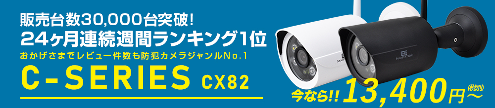 高画質でクラウド対応!SC-CX82